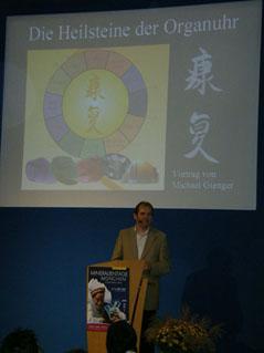Michael Gienger beim Vortrag